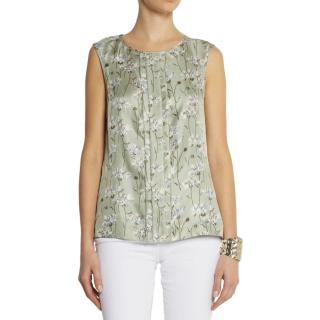 Tory Burch 'Frida' Silk Top