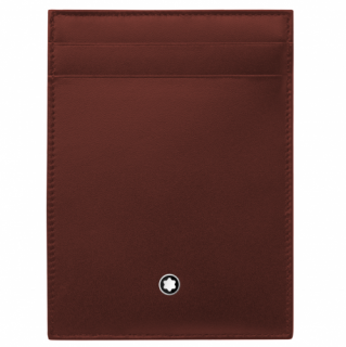 Montblanc Meisterstuck Pocket burgundy leather cardholder