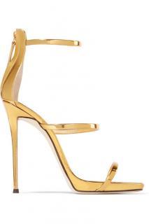 Giuseppe Zanotti Harmony metallic leather sandals