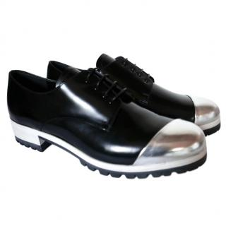 Miu Miu metal-cap leather brogues