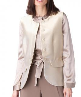 Emporio Armani Metallic Waistcoat