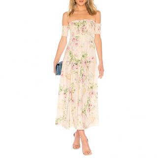Zimmermann Iris over-the-shoulder dress