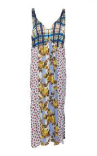Marni multi-print sleeveless dress