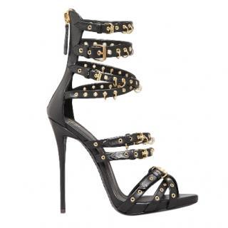 Guiseppe Zanotti eyelet-embellished multi-strap sandals