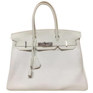 Hermes Taurillon Clemence Birkin 30 Bag