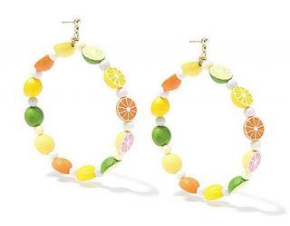 Venessa Arizaga Juicy Baby Earrings