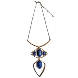 Alexis Bittar Lapis-Pendant Gold-Plated Necklace
