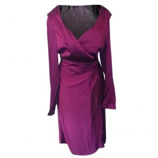 Vivienne Westwood Red Label Silk Blend Wrap Dress