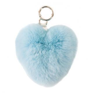 FurbySD Blue Chinchilla Hear Key Ring