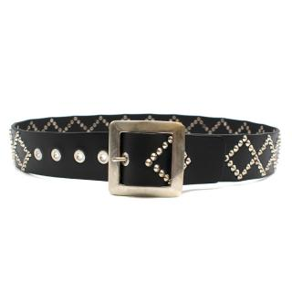 The London Leatherman Harlequin Cone Stud Belt
