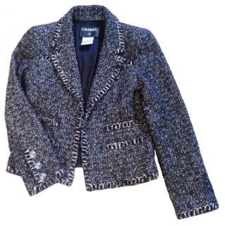 Chanel Tweed Boucle Fantasy Blazer
