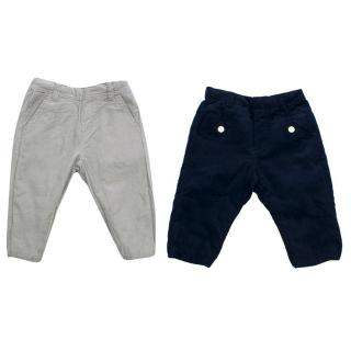 Tartine et Chocolate Boys 2Y Reversible Corduroy Trousers