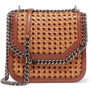 Stella McCartney The Falabella Woven Box Bag