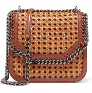 Stella McCartney The Falabella Woven Box Bag