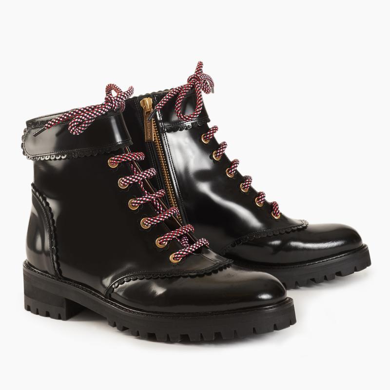 Camilla Elphick Black Leather Heidi