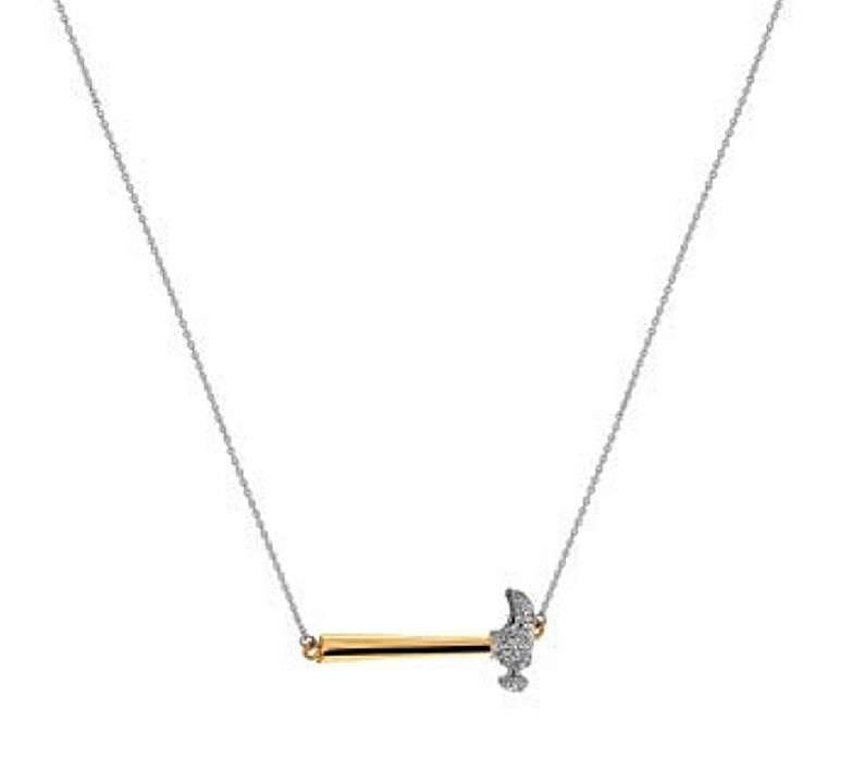 Hornig & Hill Nailed It Pendant Necklace
