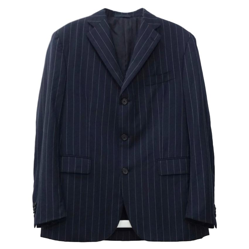 Boggi Zelander Dream Wool Navy Blazer