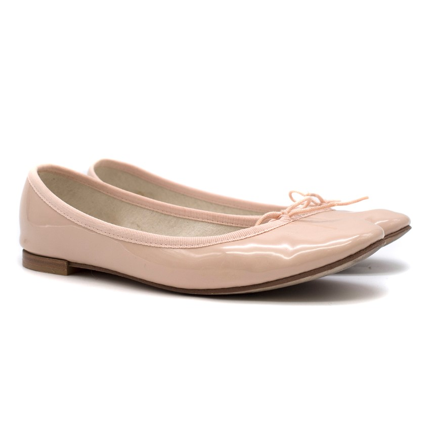 Repetto Patent Leather Cendrillon EH Ballerinas
