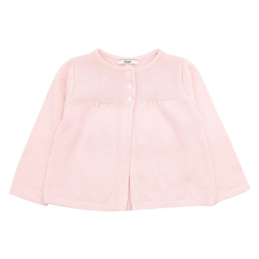 Jacadi Baby 18M Pink Cardigan