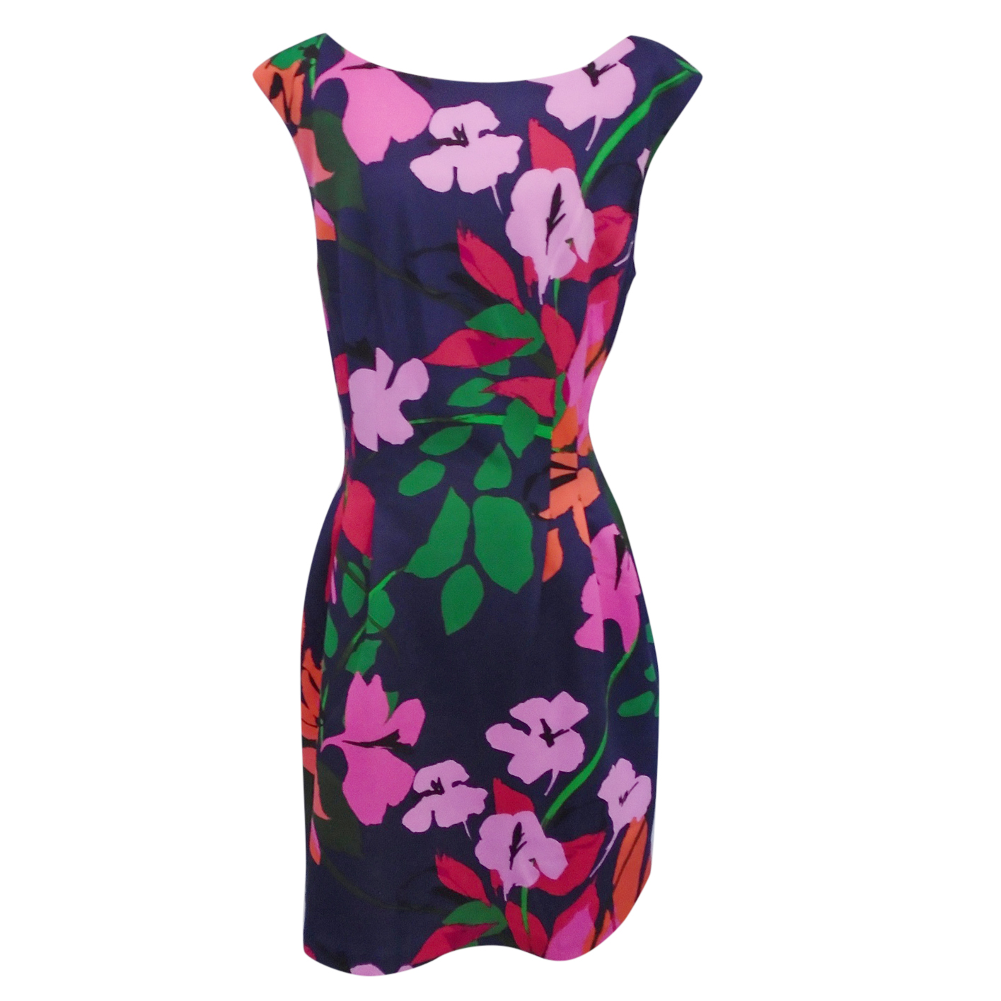 Vince Camuto floral-print pencil dress