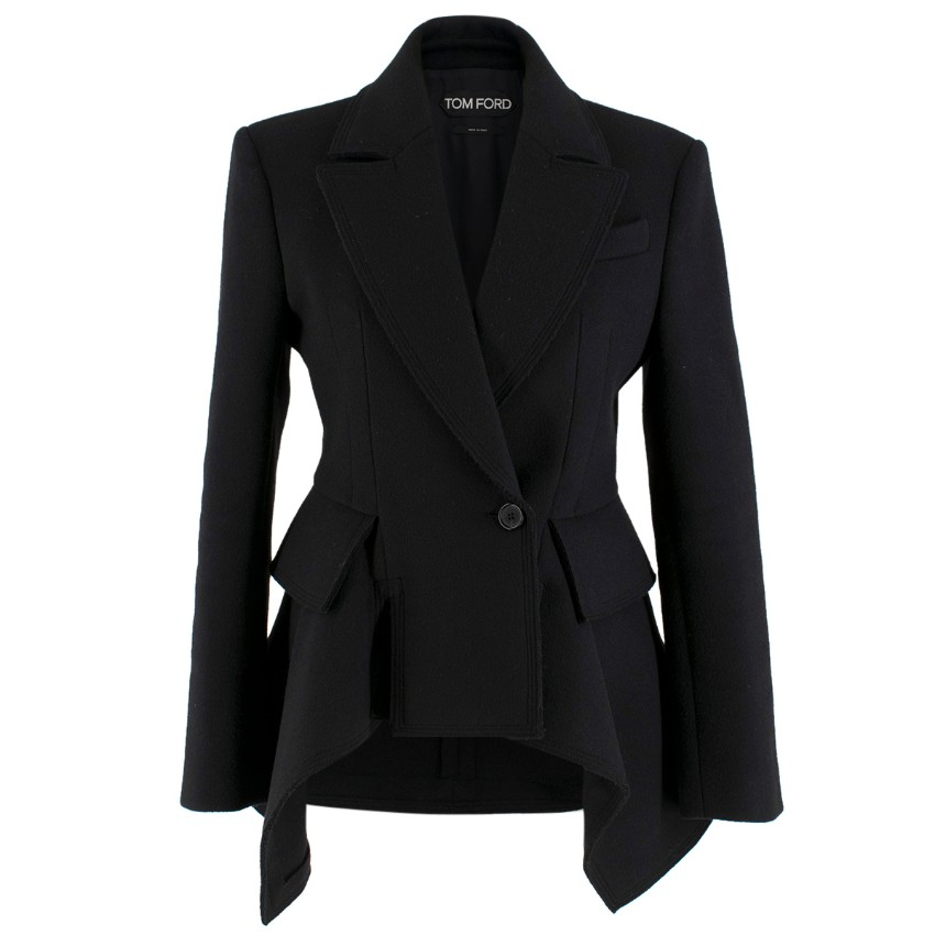 Tom Ford Double Breasted Cashmere Blend Jacket