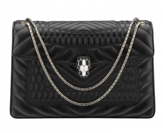 Bvlgari Quilted Serpenti Forever Shoulder Bag
