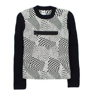 Opening Ceremony Patterned Knit Jumper