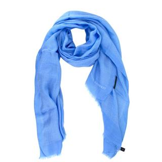 Gieves & Hawkes Blue Spotted Scarf