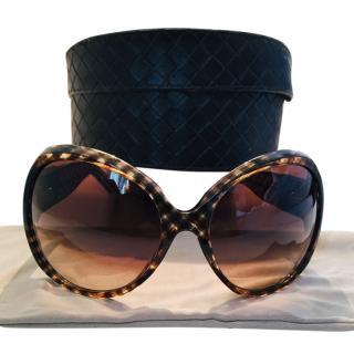 Bottega Veneta Check 65/S SLJ Sunglasses