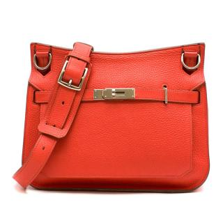 Hermes Capucine Clemence Leather Jypsiere 28 Bag