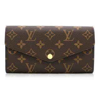 Louis Vuitton Sarah Wallet in Brown Monogram