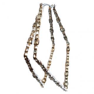 Alexis Bittar Crystal Geometric Earrings