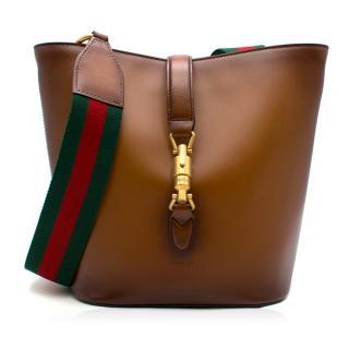 Gucci Brown Ombre 'Jackie' Bucket Bag