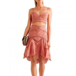 Zimmermann Jasper Fan Skirt and Bralette