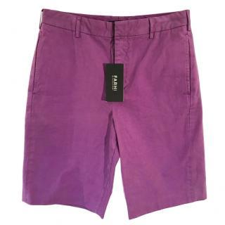 Farhi by Nicole Farhi purple Bermuda shorts