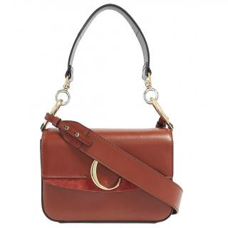 Chloe C-plaque leather bag