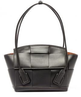 Bottega Veneta Arco 33 Small Intrecciato Leather Bag