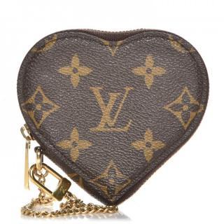 Louis Vuitton Monogram Leopard Coeur Heart Coin Purse