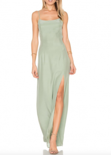 Stone Cold Fox christy silk gown