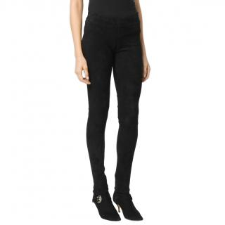 Sylvie Schimmel Suede Stretch Leggings