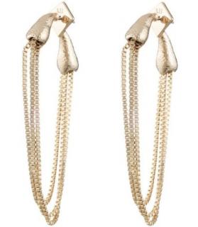 Alexis Bittar Snake Chain Post Earrings