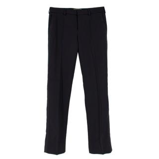 Saint Laurent Paris Black Suit Trousers