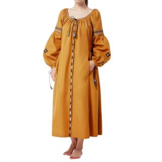 MaxMara Nuble embroidered cotton dress