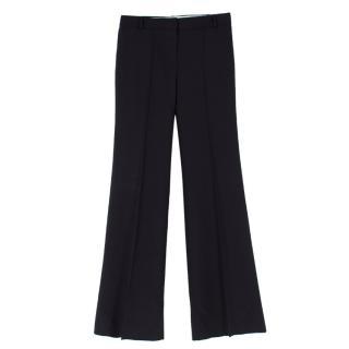 Chloe Black Straight-leg Suit Trousers
