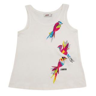 Gaultier Junior 6Y Bird Print Top