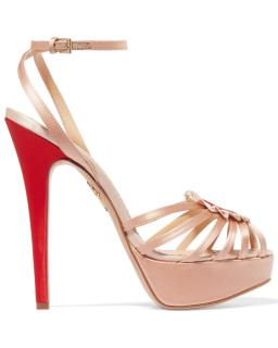 Charlotte Olympia Forever Heart Detail Sandals
