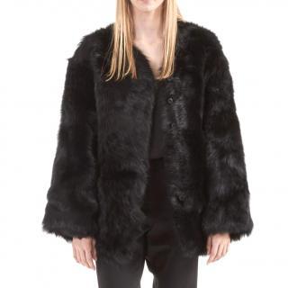 R13 Black Shealing Jacket/Coat