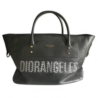 Christian Dior 'Diorangeles' Black Tote Bag
