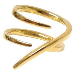 Sarah Ho Symbolic Lucky 7 Gold Ring