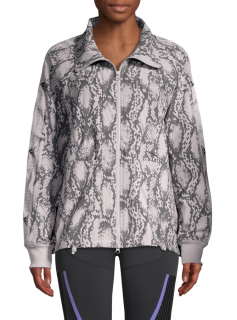 Adidas by Stella McCartney Performance Snake-Print Jacket